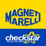 logo dell´azienda Magneti Marelli di cui Falbo Ricambi é rivenditore
